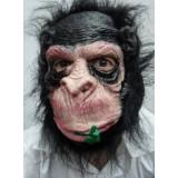 Toptan Ağzında Çiçek Maymun Maske