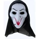 Toptan Perdeli Benli Cadı Maskesi