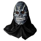 Toptan Korkunç Kafatası Kaucuk Maske