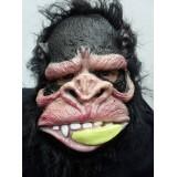Toptan Latex Ağzında Muz Maymun Maske