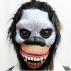 Toptan Vampir Dişli Saçlı Maymun Maskesi